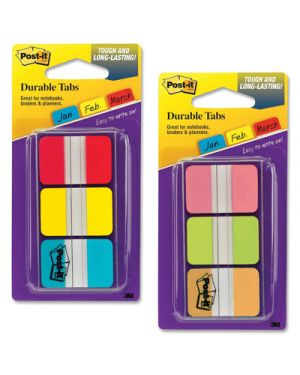 Post-it segnapagina 686 rigidi pz. 3  colori classici POST-IT 99947 0021200975929 99947