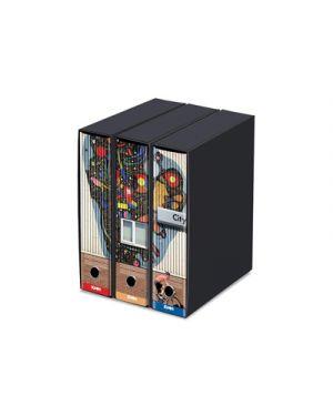 Raccoglitore kaos set 3 pezzi prot. d.8 kandinskji/insieme multicolore 87068