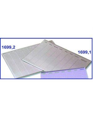 PLANNING DA TAVOLO SETTIMANALE FLEX NON DATATO SPIRALE 55 FG. 49 X 34 169910000