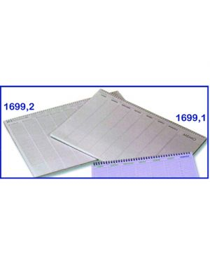 Planning da tavolo settimanale flex non datato spirale 55 fg. 49 x 34 FLEX 169910000 8008842831792 169910000 by Flex