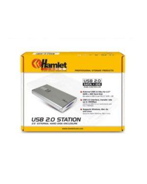 Box hard disk 2.5in sata HAMLET HXD2CCUU 5391508632431 HXD2CCUU by Hamlet