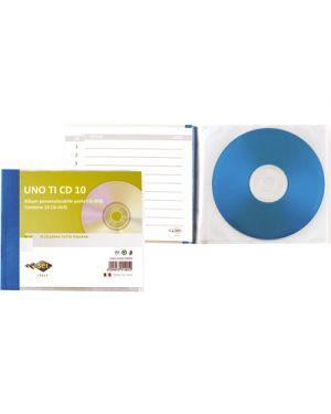 Porta Cd Dvd Metallo.Lbum Spiro Cd Ti 20 Personalizzabile 14 5x30cm