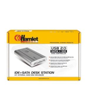Box for hd 3.5in sata+ide usb2 HAMLET HXD3CCUU 5391508633803 HXD3CCUU by Hamlet