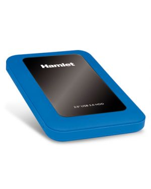 Box per hdd 2.5in usb3.0 blu HAMLET HXD25U3MBL 5391508634435 HXD25U3MBL by Hamlet