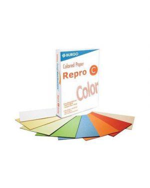 Carta fotocopie colorata forte gr.80 a4 rosso intenso fg.500 8588