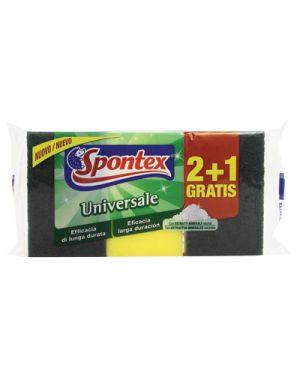 Spontex spugna abrasiva universale pz.3 SPONTEX 120846 3384123162133 120846