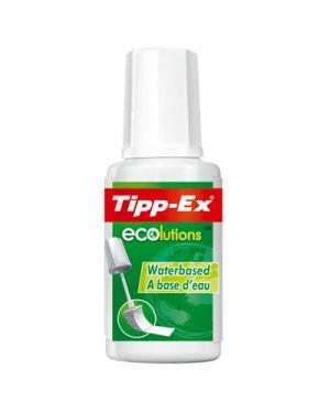 CORRETTORE TIPP-EX LIQUIDO ECOLUTIONS A BASE ACQUA ML.20 8806824