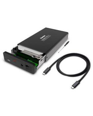 Hard disk sata 3.5 aluminum box HAMLET HXD35TCU31 8000130592187 HXD35TCU31 by Hamlet