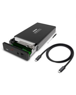 Hard disk sata 3.5 aluminum box HAMLET HXD35TCU31 8000130592187 HXD35TCU31