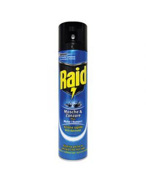 Raid insetticida mosche e zanzare ml.400 RAID 105305 8711800118506 105305