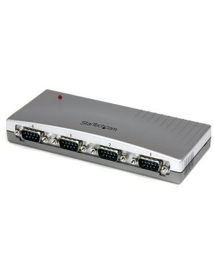 Hub adattatore usb a seriale STARTECH - COMP. CARDS AND ADAPTERS ICUSB2324 65030825177 ICUSB2324 by Startech