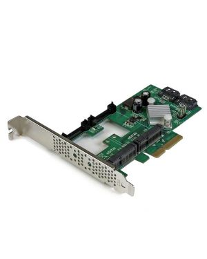 Scheda pcie 2.0 sata STARTECH - COMP. CARDS AND ADAPTERS PEXMSATA3422 65030859394 PEXMSATA3422 by No