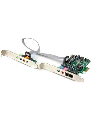 Scheda audio interna pcie STARTECH - COMP. CARDS AND ADAPTERS PEXSOUND7CH 65030860376 PEXSOUND7CH by No