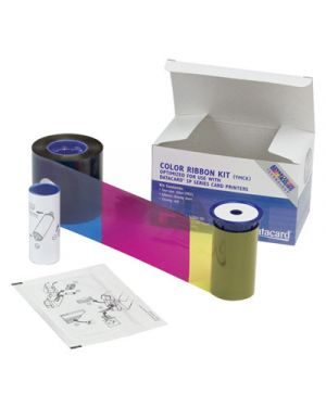 Ribbon kit ymckt 1 - 2 pannel ENTRUST RIBBONS FILMS LAMNTS CARDS 534000-004 5052883336832 534000-004 by No
