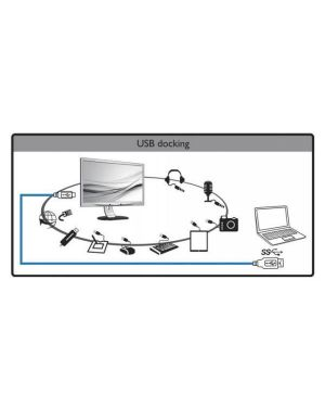24in led ips usb 3.0 docking MMD - PHILIPS MONITORS 241B7QUPEB/00 8712581743529 241B7QUPEB/00 by Mmd - Philips Monitors