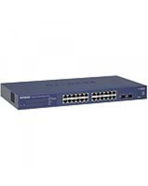 Switch 24 porte gigabit prosafe NETGEAR - RETAIL GS724T-400EUS 606449098310 GS724T-400EUS by Netgear - Retail