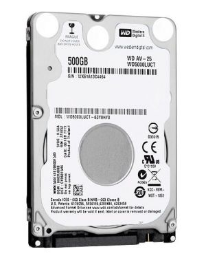 WD AV-25 500GB 16MB AUDIO/VIDEO WD5000LUCT