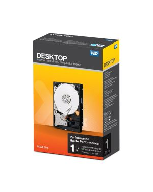 WD BLACK DESKTOP PERFORMAN 1TB WDBSLA0010HNC-ERSN