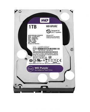 1tb purple 64mb WD - SURVEILLANCE WD10PURZ 718037856780 WD10PURZ by No