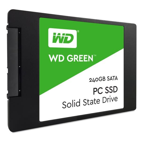 Wd green ssd 240gb 2.5 in 7mm WD - SSD CONSUMER WDS240G2G0A 718037858494 WDS240G2G0A by No