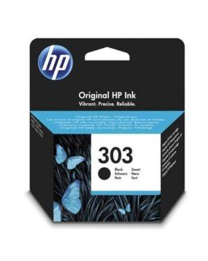 Original hp 303 black HP - INKJET SUPPLY MVS (1N) T6N02AE#301 190780571019 T6N02AE#301