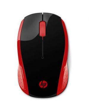 Hp 200 red wireless mouse HP Inc 2HU82AA#ABB 191628416394 2HU82AA#ABB