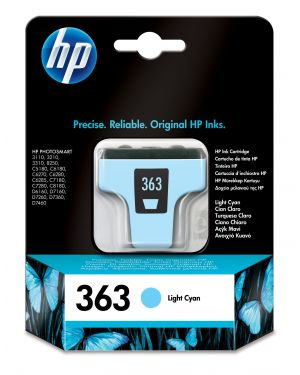 Ink cartridge no 363 cyan light HP - INKJET SUPPLY MVS (1N) C8774EE#UUS 889894729095 C8774EE#UUS