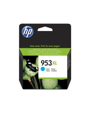 Ink cartridge no 953xl cyan HP - INKJET SUPPLY MVS (1N) F6U16AE#BGY 725184104107 F6U16AE#BGY