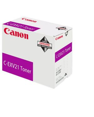C-exv21 toner magenta CANON - SUPPLIES LFP 0454B002 4960999402819 0454B002