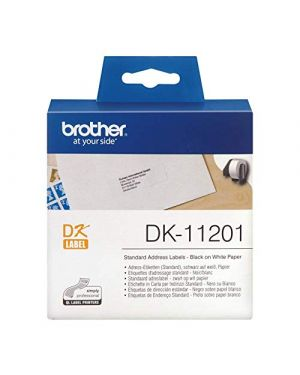 Dk single lable rolls BROTHER - CONSUMABLES INK DK11207 4977766628174 DK11207