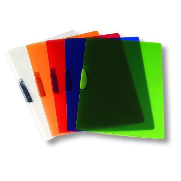 Cartellina clipper traspar arancio Fellowes F007TAR 8015687016840 F007TAR by Fellowes