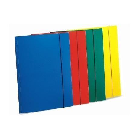 Cartella 3 lembi c - elast giallo Fellowes U110GI 8015687007350 U110GI by Fellowes