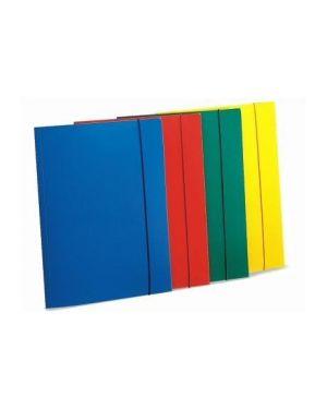 Cartella 3 lembi c - elast giallo Fellowes U110GI 8015687007350 U110GI