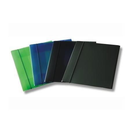 Cartella 3 lembi c - elast trasp blu Fellowes U110TB 8015687016857 U110TB by Fellowes