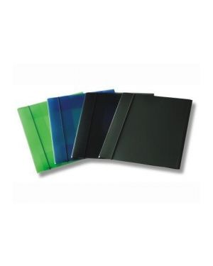 Cartella 3 lembi c/elast trasp verd - U110tv U110TV