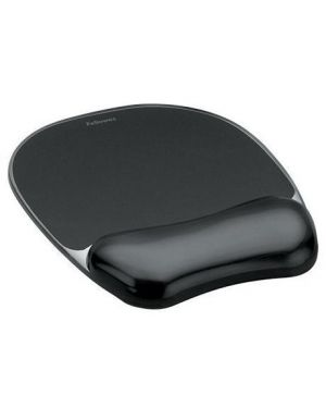 MOUSEPAD GELCRYSTALS SUPP POLSO NER 9112101