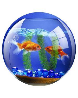 Mousepad brite mat - pesce rosso Fellowes 5881103 43859509003 5881103