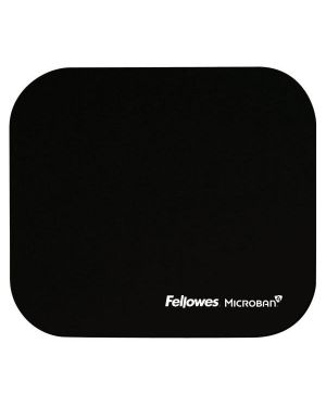 Mousepad microban nero 5933907