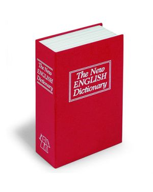 Cassetta portavalori a dizionario piccola 80087