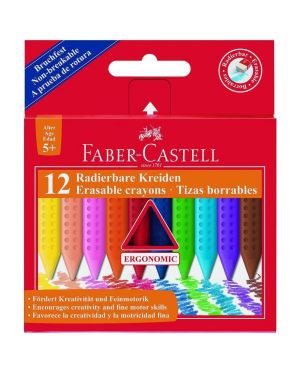 Pastelli cera castell grip 12 FABER CASTELL 122520 4005401225201 122520 by No