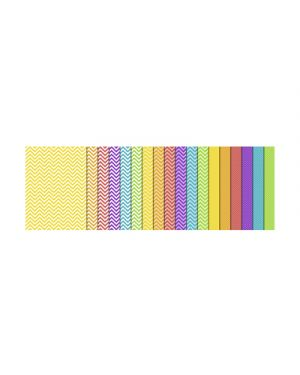 CARTA BRICOLAGE IN BLOCCO 300G 24X34CM FG.18 ASS. 13460099 by No