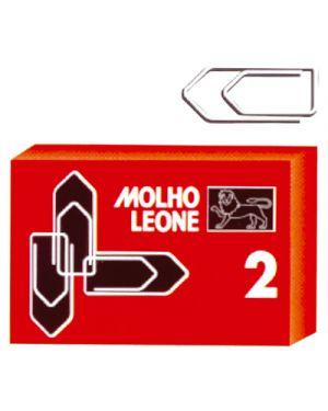 Fermagli zincati leone n.2 pz.100 MOLHO LEONE 21112 8002057211127 21112