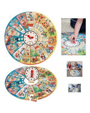 """Puzzle didattico xxl """"la mia giornata&#34 BELEDUC 11012 4014888110122 11012 by No"""