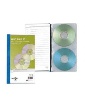 PORTA CD SEI UNO TI 20 SCOMPARTI 554020