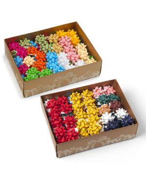 Stella adesiva similpaper mm.10 pezzi 100 colori assortiti 3023