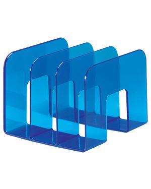 Portariviste a 3 posti blu traslucido 1701395540