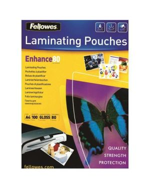 Buste pouches enchance a4 80 my pz.25 FELLOWES 5396205 0077511539626 5396205