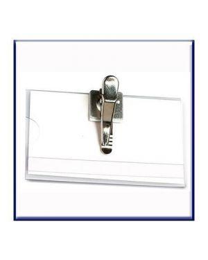 P.badge srigid clip in metal Fellowes L450M 8015687007091 L450M