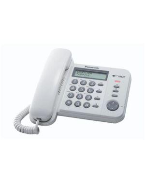 Telefono fisso kx-ts560ex1w Panasonic KX-TS560EX1W 5025232490899 KX-TS560EX1W by Panasonic