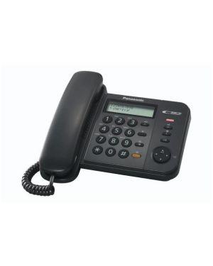 Telefono fisso kx-ts580ex1b Panasonic KX-TS580EX1B 5025232490967 KX-TS580EX1B by Panasonic